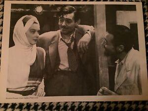 Stampa-Cinema-Rosalind-Russel-Clark-Gable-Peter-Lorre-35cm-X-50cm
