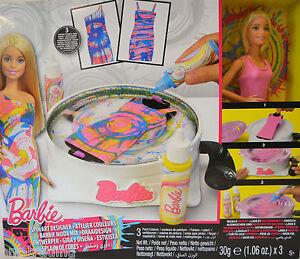 Barbie Spin Articolo Designer E Bambola Dmc10 Mattel Nuovo In