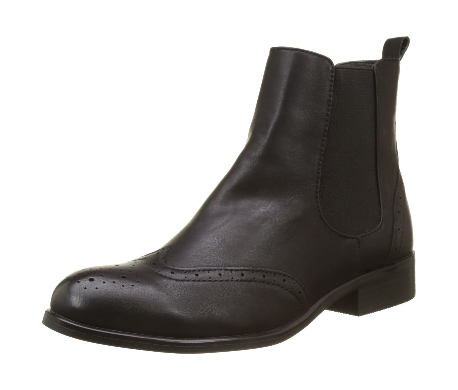 Buffalo Bottes B195a-61 B195a-61 B195a-61 P2173a Cuir Simili-Cuir Chelsea Bottes Noir (Noir 01) | Sale Online  4d2f19