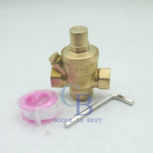 "G1/"" DN25 Brass Adjustable Water Pressure Regulator Pressure Maintaining Valve"