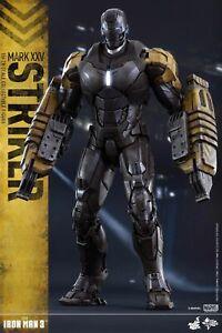 Hot Toys MMS277 Marvel Iron Man 3 Mark XXV 25 Striker 1//6 Figure Ready