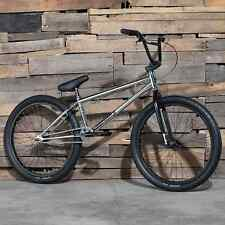 "2017 SUNDAY BIKE BMX MODEL C 24"" CHROME BICYCLE FIT CULT CRUISER HARO SE"