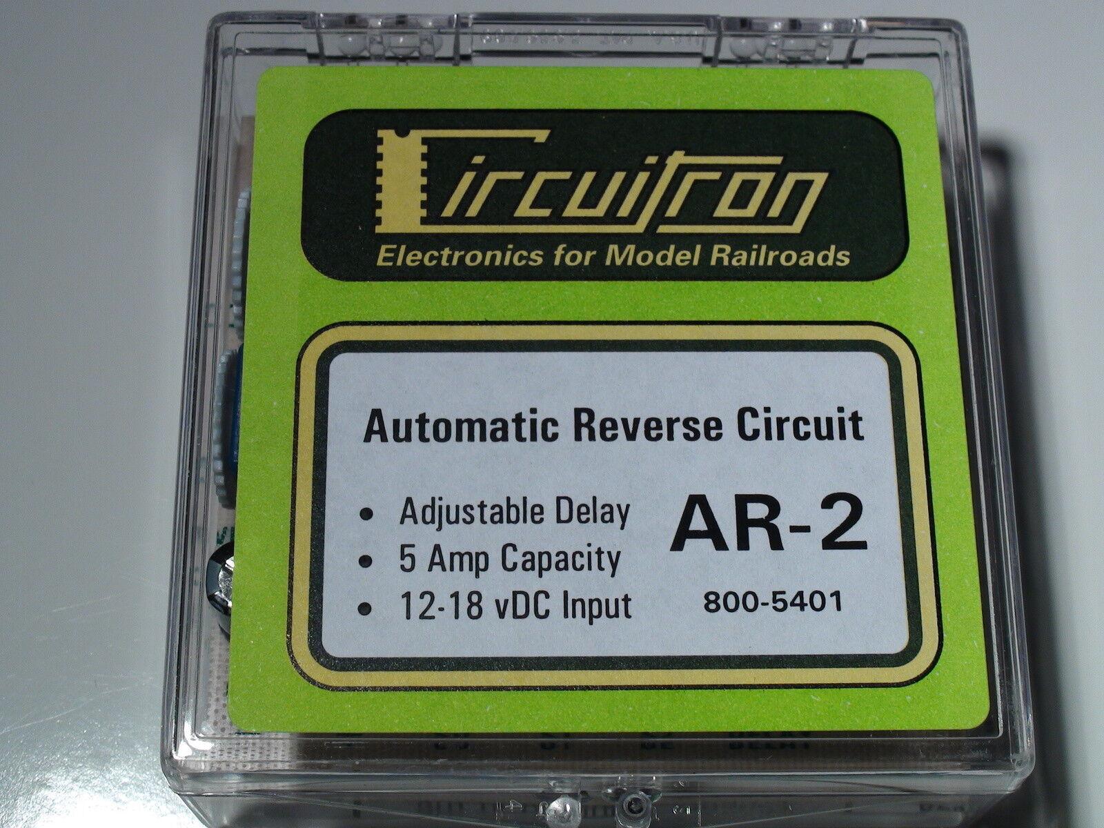 CIRCUITRON 800-5401 AR-2 AUTOMATIC REVERSE CIRCUIT BIGDISCOUNTTRAINS