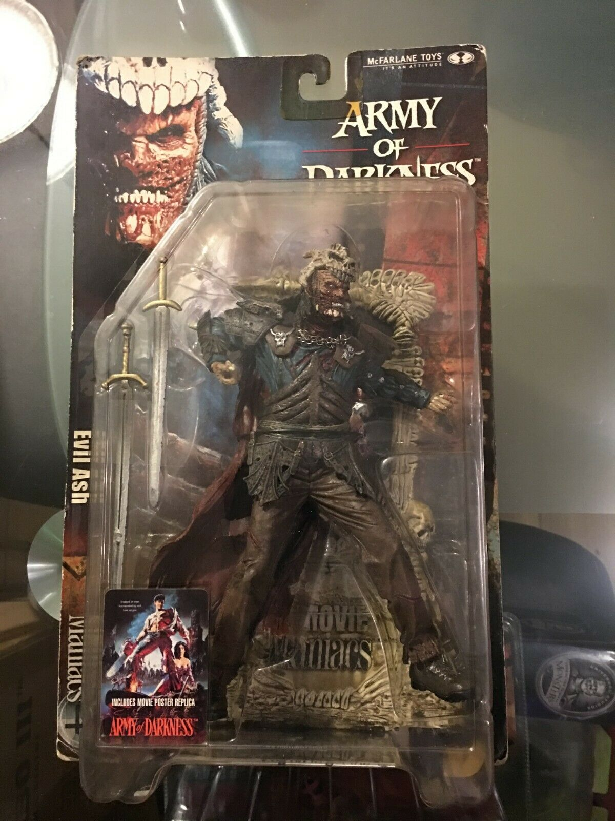 2001 McFarlane's EVIL ASH (Army (Army (Army of Darkness) from ''Movie Maniacs 4'' c7f96d