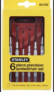 New 6Pc Precision Screwdriver Set Screw Driver Laptop PC Repair Phillips Slotted