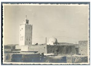 Tunisie-Gafsa-Vintage-silver-print-Tirage-argentique-8x11-Circa