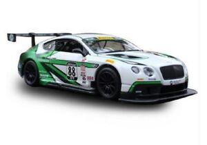 Bburago-1-24-Bentley-Continental-GT3-NO-88-Diecast-Model-Sports-Racing-Car-NIB