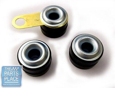 1964-67 GM Cars Wiper Motor Grommets & Ground Strap Kit (Short)