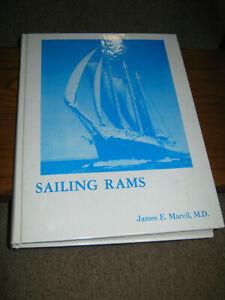 Sailing-Rams-James-E-Marvil-MD-Limited-Ed-65-Of-700-Copies-1974-Hardback