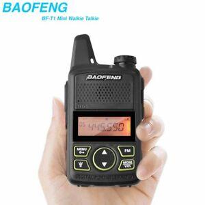 Mini-Baofeng-BF-T1-Walkie-Talkie-UHF-400-470MHz-Portable-FM-Ham-Two-Way-Radio