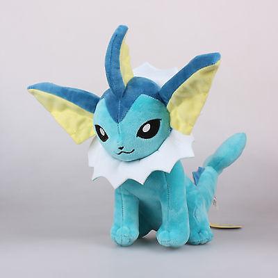 35cm Aquana Vaporeon Plüschtier Pokemon Cosplay Spielzeug Stofftier Kuscheltier