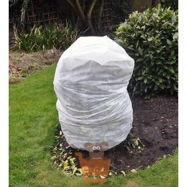 4 x Large Frost Protection Jacket Plant Warming Fleece Winter Cover 125cm x 80cm