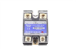 3-32V DC to 24-480V AC 40A Output Single Phase SSR Solid State Relay BEM-14840DA