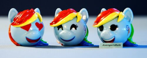 My Little Pony Funko Mymoji Mini-Figure Rainbow Dash Set of 3