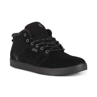 Black Etnies Jefferson Mid Shoes Black