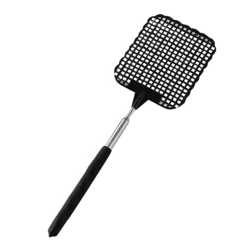 Telescopic Extendable Fly Swatter Prevent Pest Mosquito Tool Flies Trap
