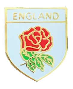 RUGBY QUALITY ENAMEL LAPEL PIN BADGE