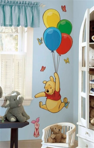 Winnie the Pooh /& Piglet Giant Peel /& Stick Wall Decal Sticker NEW SEALED