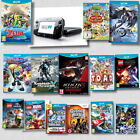 Nintendo Wii U - Black Console Bundles + ASSORTED Wii U Games @ BARGAIN Prices
