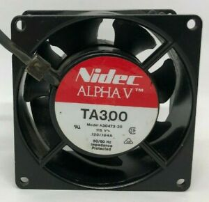 TA300-ALPHA-A30473-20-Fan-120V-0-104A-80x80x38mm-Chassis-cooling-fan-Nidec-29