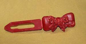 S-1106-Angeldog-Hundefellspange-Haarschleife-fester-Halt-Haarspange-Hund-klein