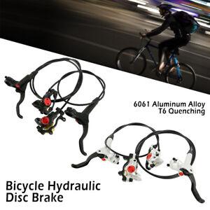 Freno-a-disco-idraulico-per-bicicletta-Anteriore-posteriore-Set-MTB-Bike