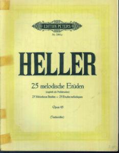 Heller-25-melodische-Etueden-Opus-45-Klavier