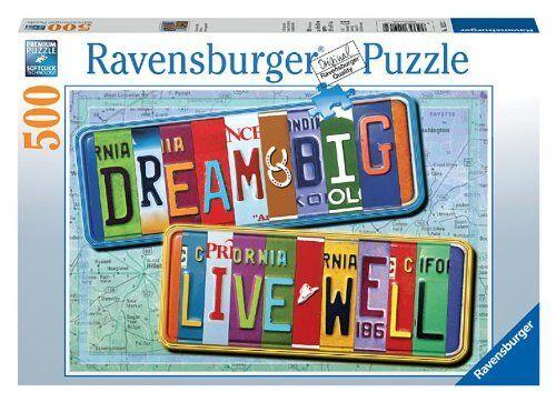 Eine lizenz zum leben 500 stck puzzle, neue, free shipping