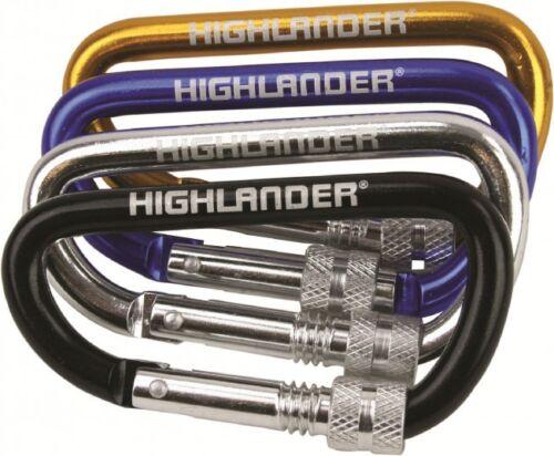 24pcs Screwgate Karabiner Rucksack Accessories