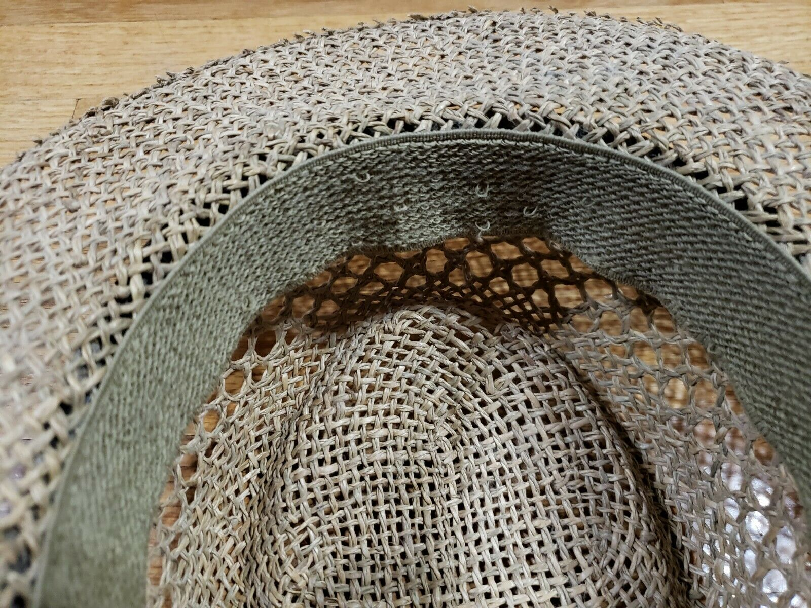 Authentic RedHead Straw Hat Cap 100% Straw One Si… - image 9