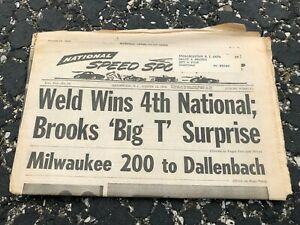 AUG-15-1973-NATIONAL-SPEED-amp-SPORTS-NEWS-car-racing-newspaper-WELD-wins