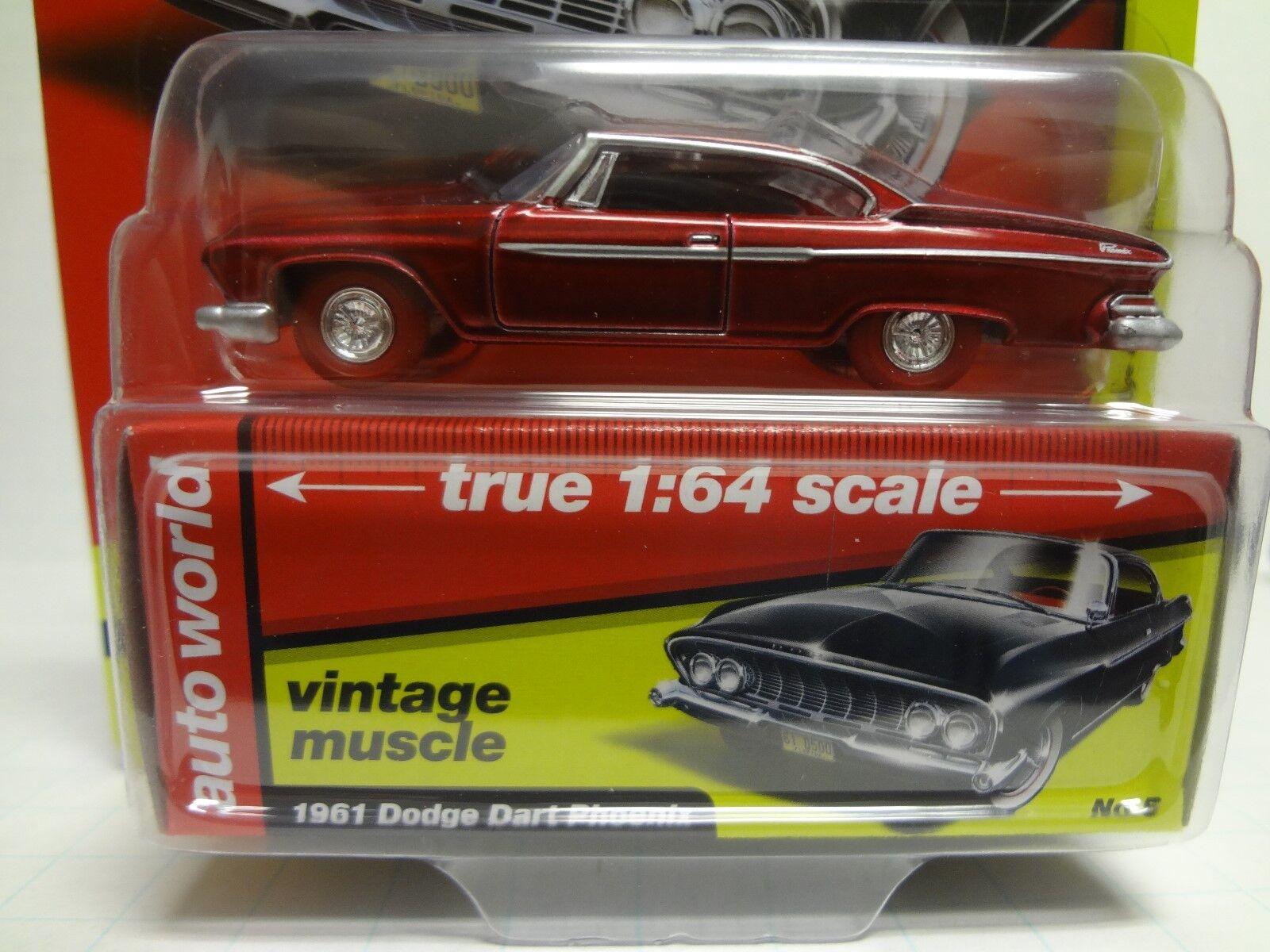 Die auto - welt ultra rot chase 1961 dodge dart phoenix 2018 r2a aw64172 - 18l