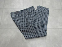 Hilary Radley Womens Pants-color-blue And White-size-8