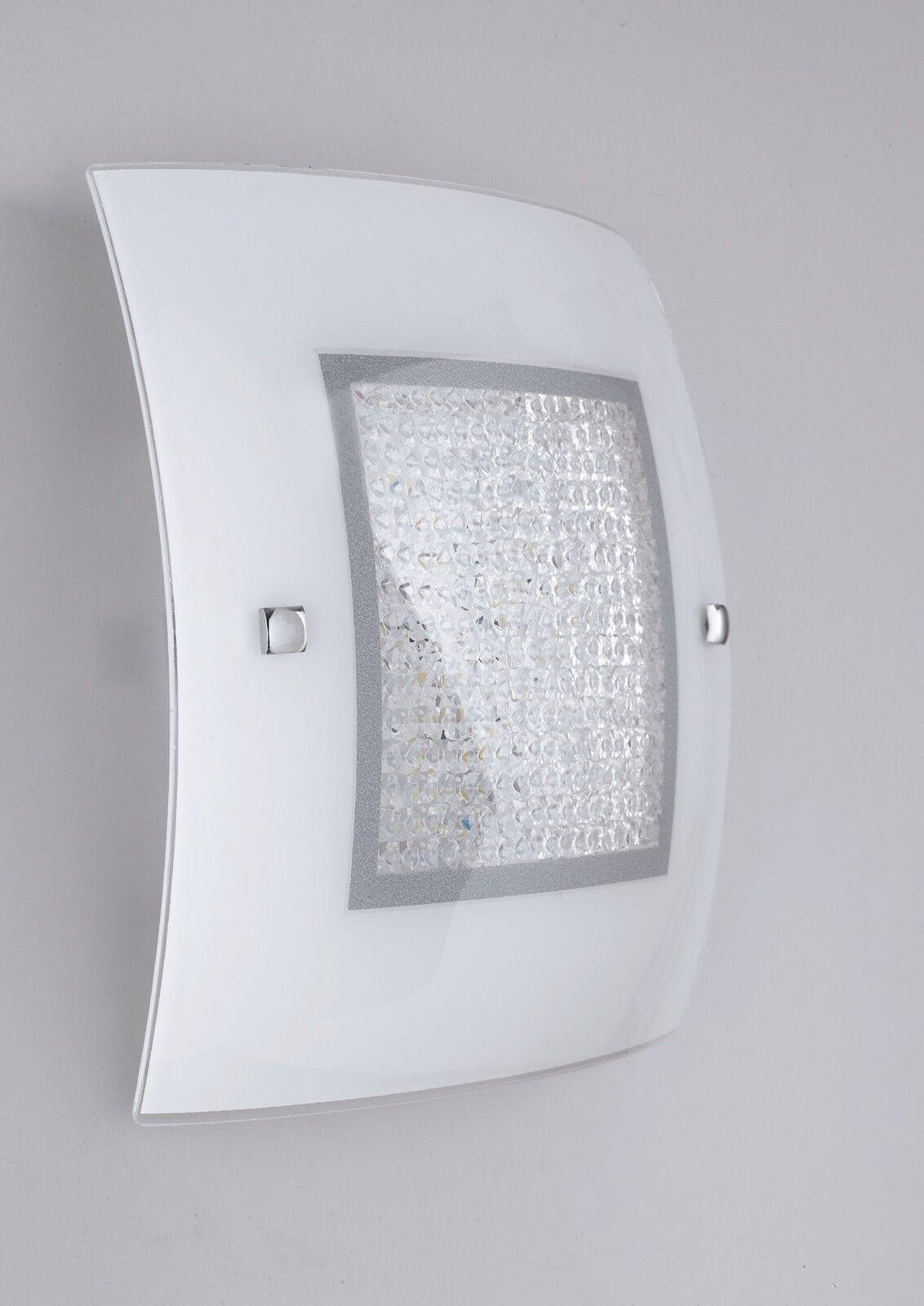 SUSAN PLAFONIERA MODERNO VETRO E E E CRISTALLO LED | D'être Très Apprécié Et Loué Par Les Consommateurs  e638e5