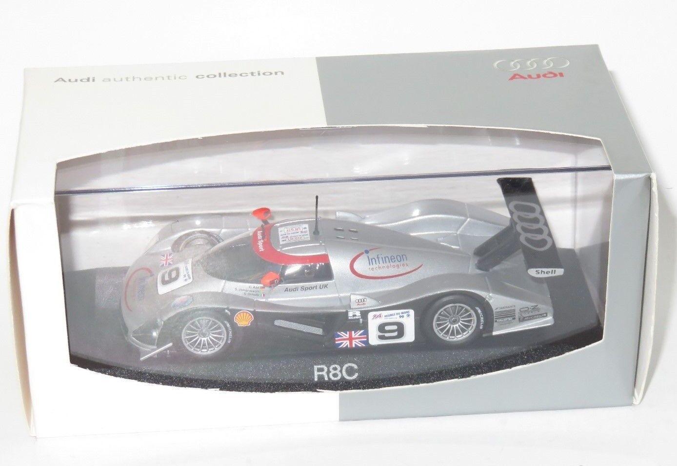 1 43 Audi R8C  Audi Sport Le Mans 24 Hrs 1999 Johansson Ortelli Abt