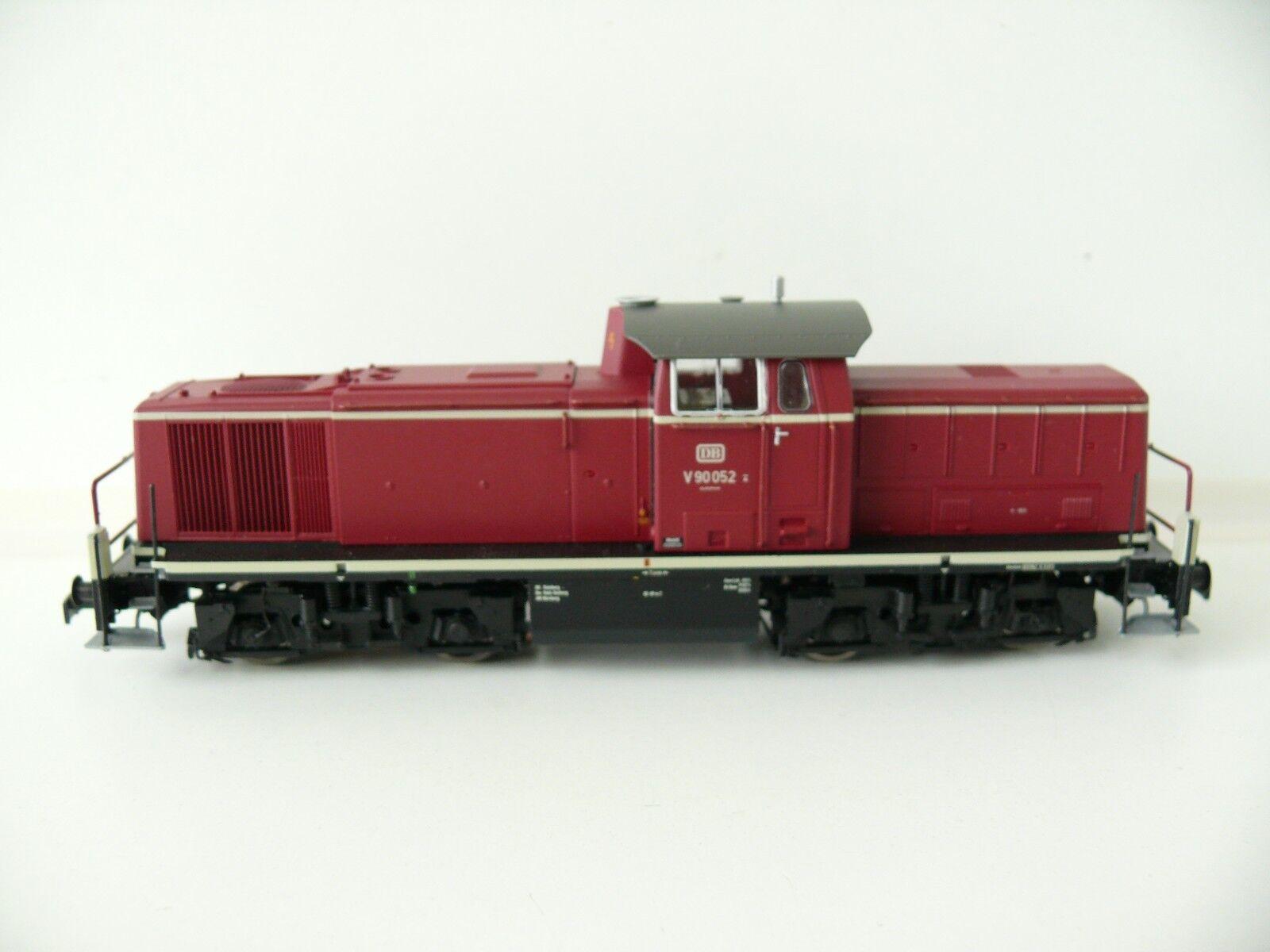 Brawa h0 - 41504 (WS) diesellok v90, DB v90052, PE III-nuevo & OVP