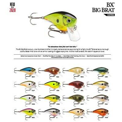 Various Colors Rapala BX Big Brat //// BXBB06 //// 7cm 21g Fishing Lures