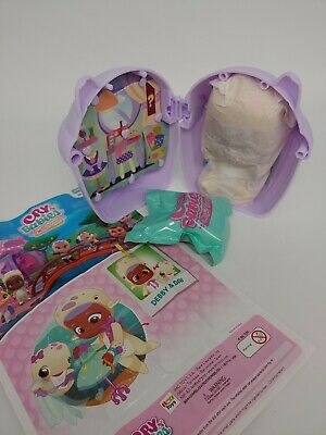 RARE DEBBY Cry Babies Magic Tears Bottle House Mini Doll Open pack NEW