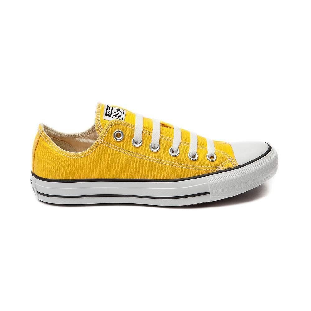 nouveau converse all star star all classic lo haut lemon toile chuck taylor  s chaussure e5680e