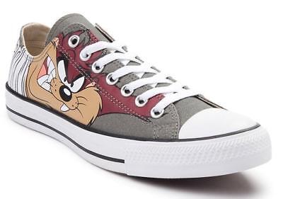 Converse x LOONEY TUNES Chuck Taylor Ox Taz diavolo della tasmania grigio Scarpe da ginnastica 158236F | eBay