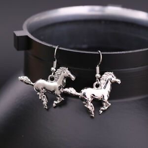 Fashion-Horse-Pony-Animal-Drop-Earring-Gift-Jewelry-for-Equestrian-Cowgirl-Women