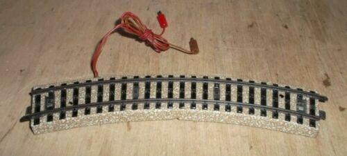 MÄRKLIN H0 5103 Anschlußgleisstück mit Stromanschluß und Stecker gebogen 5100