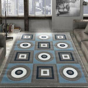 Area-rug-Nwprt-59-Modern-gray-white-blue-soft-pile-size-option-2x3-4x5-5x7-8x11