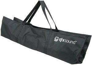 1 of 1 - BAG014 QTX SOUND SPEAKER STAND BAG SMALL FOR 2 STANDS 970X520MM