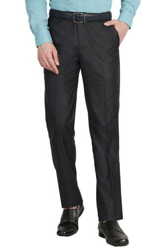 Men Formal Business Pants Slim Fit Straight Jeans Solid Slacks Trousers Fashion