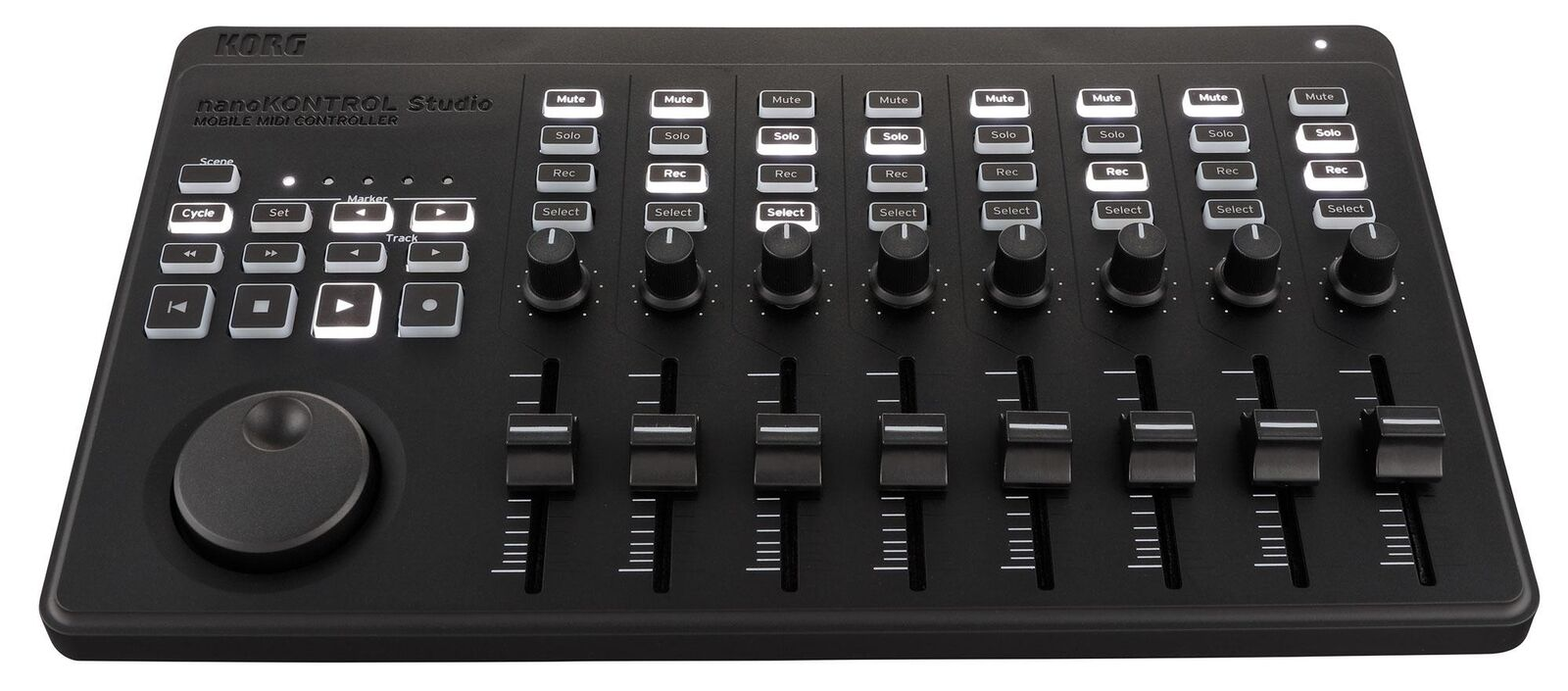 KORG nanoKONTROL Studio Midi DAW Controller Steuerung USB Blautooth PC MAC
