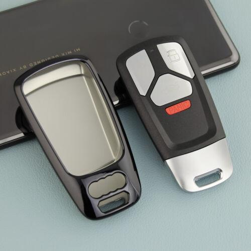 Key Case Chain For Audi A4 B9 A5 Q5 Q7 TT Accessories Keychain Cover Fob Ring
