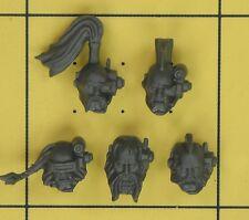 Warhammer 40K Marines Espaciales Espacio Lobos Wolf Pack Scout Cabezas (C)