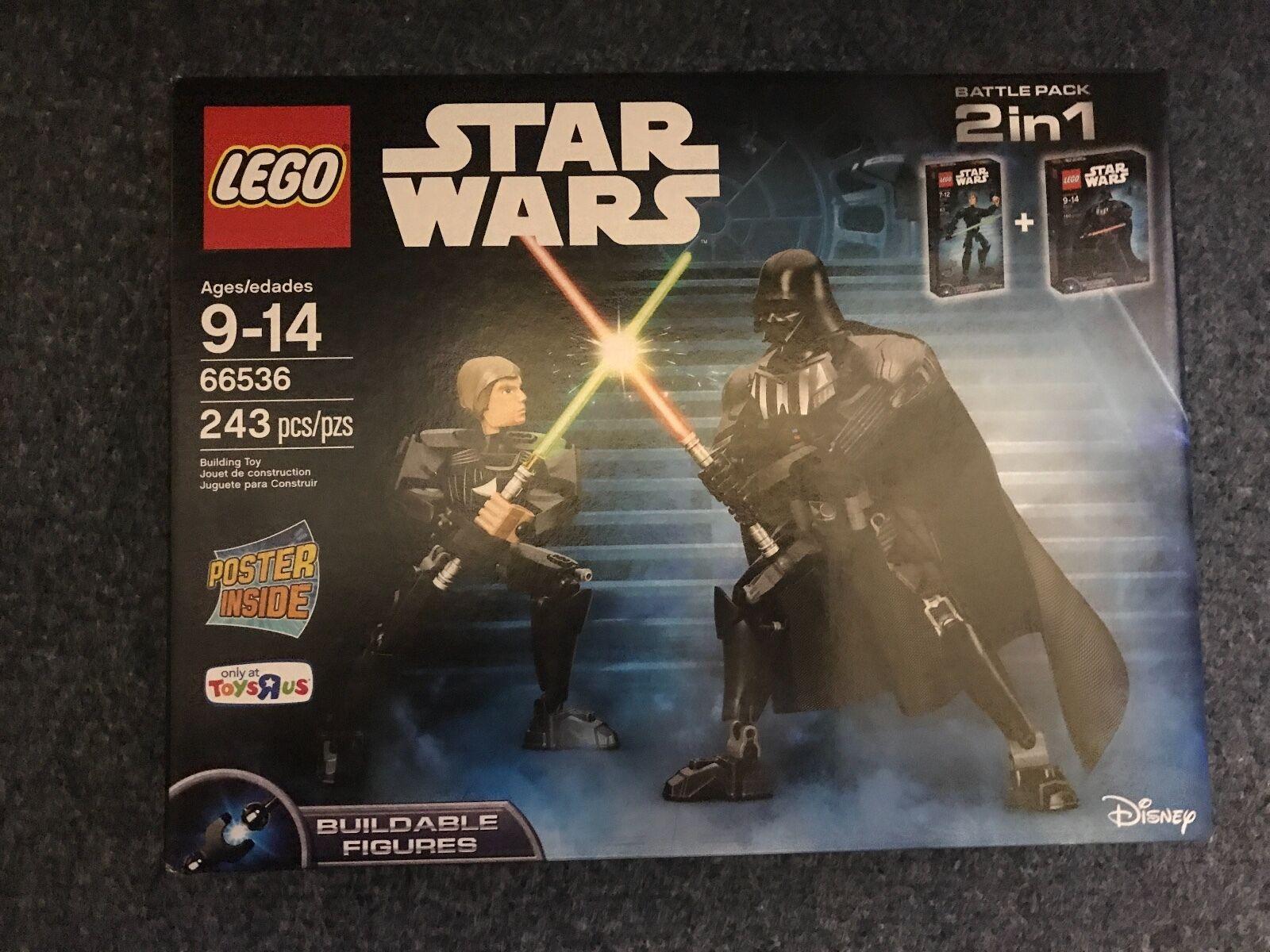 LEGO Star Wars Darth Vader & Luke Skywalker Battle  66536