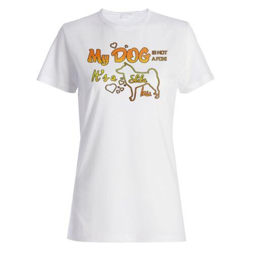 My Dog Not a Fox It/'s a Shiba Inu Ladies T-shirt//Tank Top aa299f